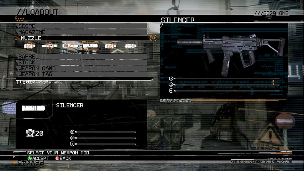 Blacklight: Tango Down - Personalizza le tue armi