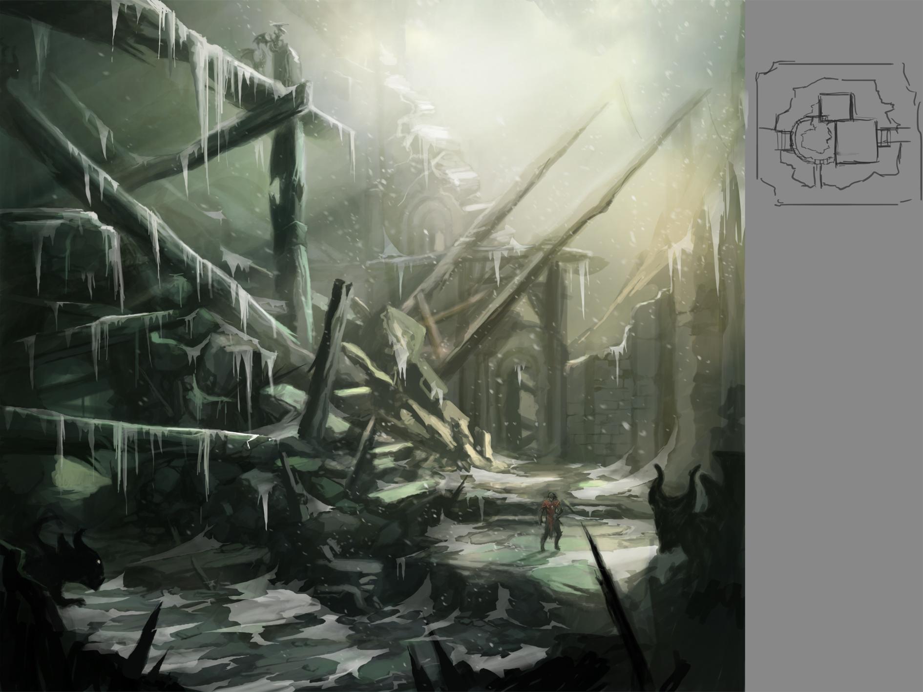 Castlevania: Lords of Shadow - Mostri e scene