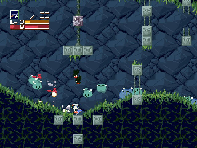 Cave Story - Wii retrogame