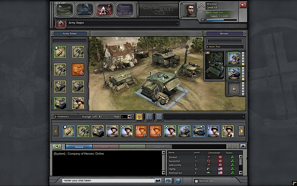 Company of Heroes Online - Screenshots