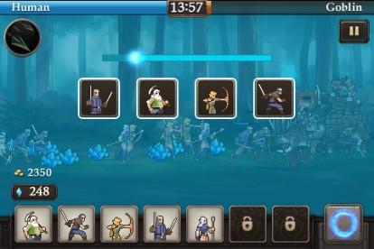 Crystal War - Screenshots