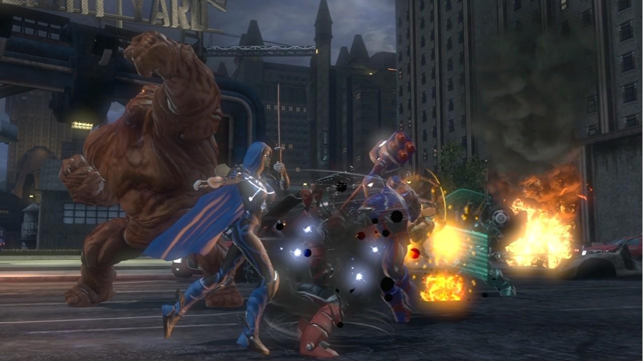 Dc Universe Online - Supereroi si scontrano