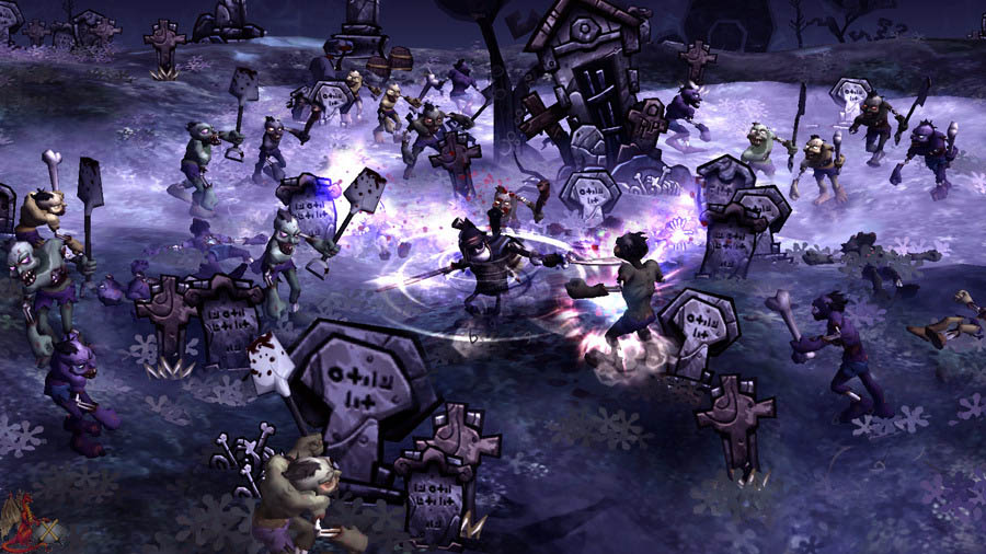 DeathSpank - Immagini del gameplay