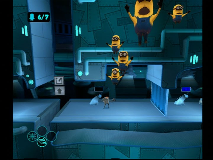 Despicable Me - Tanti screenshots Wii