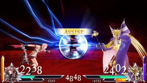 Dissidia 012 [duodecim]: Final Fantasy - gameplay