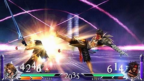Dissidia 012 [duodecim]: Final Fantasy - Kombat Gameplay