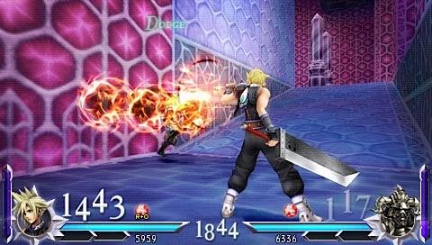 Dissidia 012 [duodecim]: Final Fantasy - Personaggi e combattimenti
