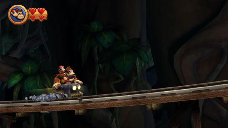 Donkey Kong Country Returns - In game