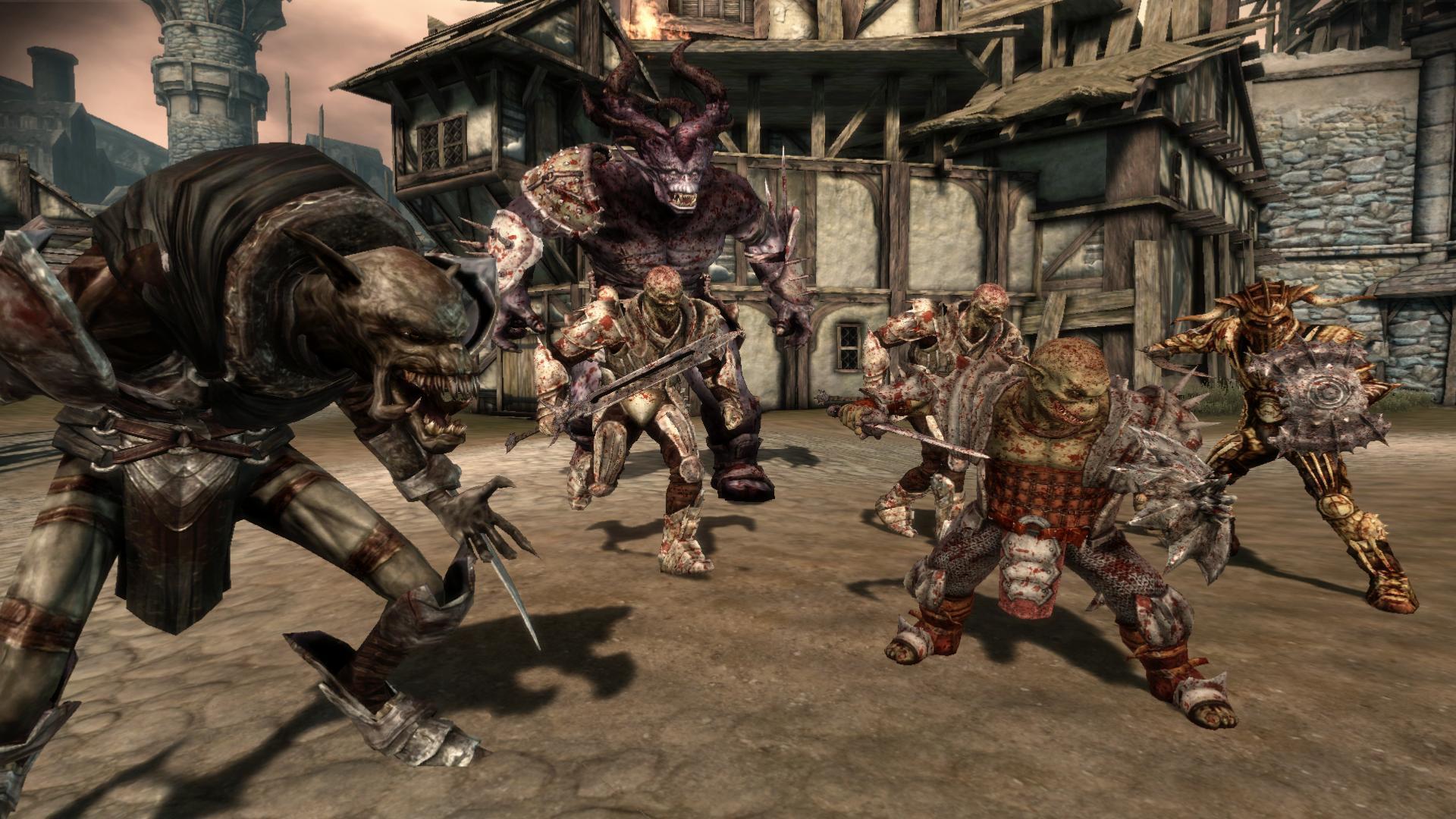 Dragon Age: Origins - Screenshots di Darkspawn