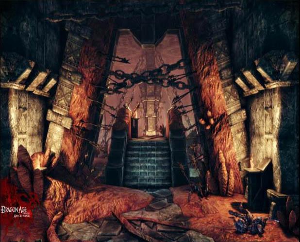 Dragon Age: Origins Awakening - Ambienti oscuri