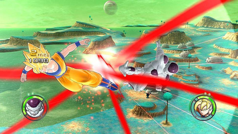 Dragon Ball: Raging Blast 2 - Goku vs Freezer