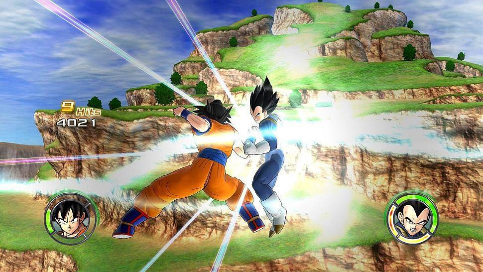 Dragon Ball: Raging Blast 2 - Goku vs Vegeta