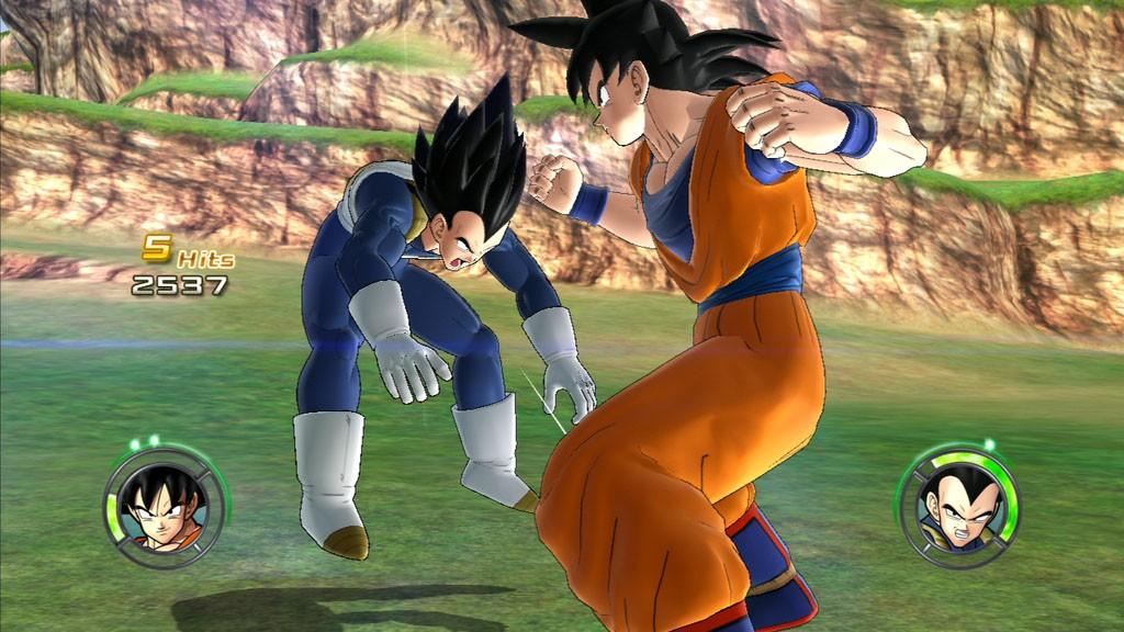 Dragon Ball: Raging Blast 2 - Si inizia a combattere