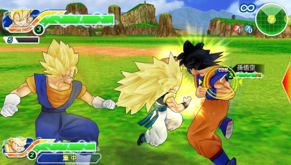 Dragon Ball Z: Tenkaichi Tag Team - Ancora screenshots