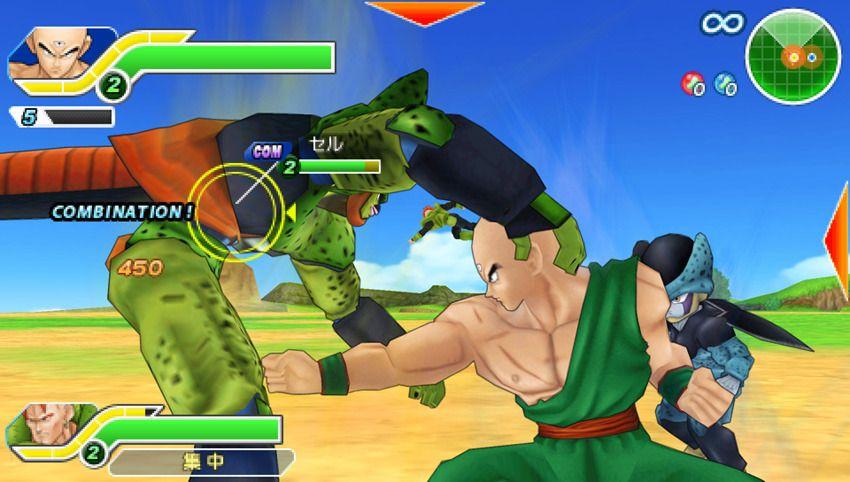 Dragon Ball Z: Tenkaichi Tag Team - Arti marziali