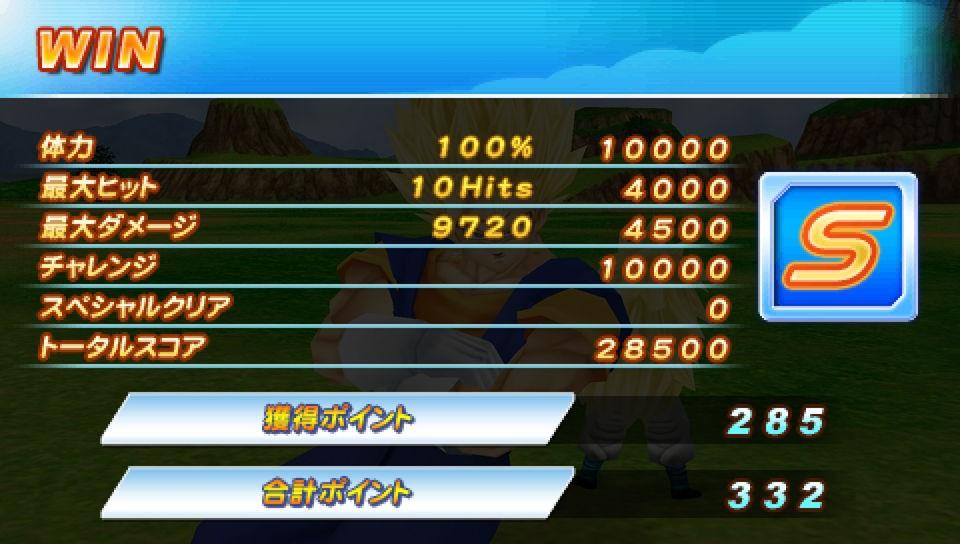 Dragon Ball Z: Tenkaichi Tag Team - In game