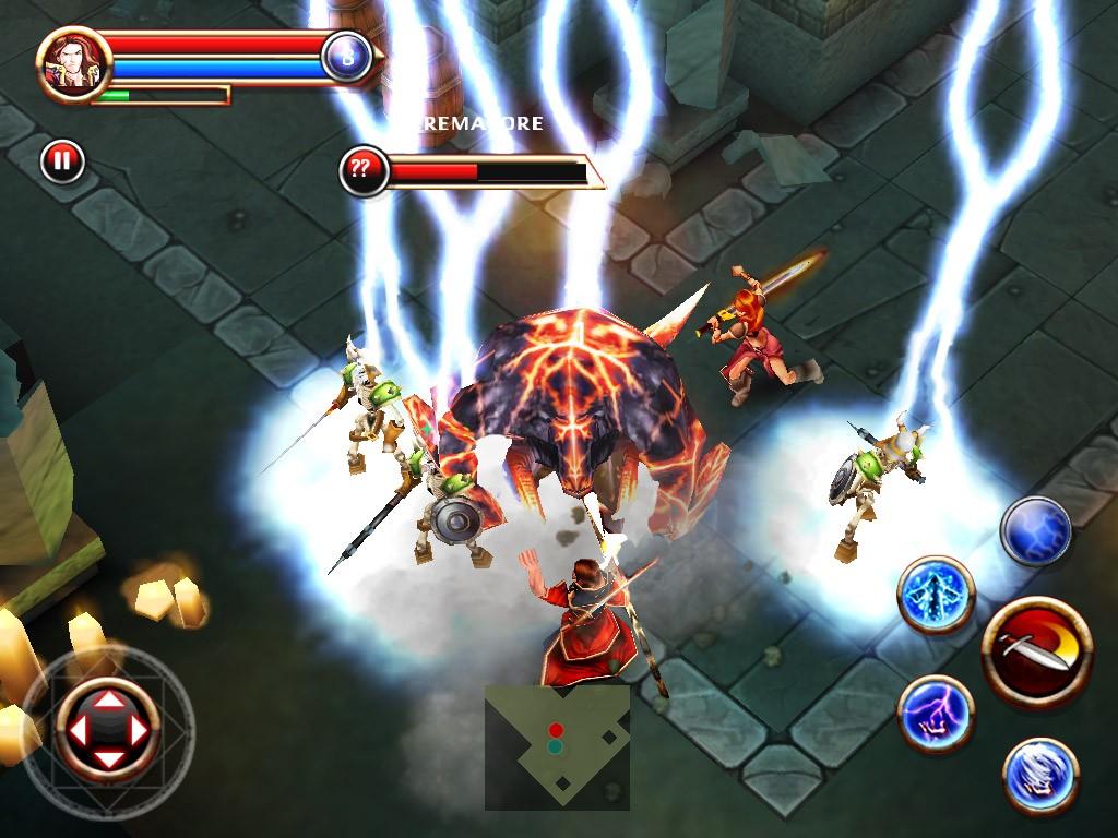 Dungeon Hunter - Immagini della versione iPad