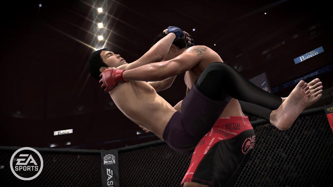 EA Sports MMA - Lotta a terra
