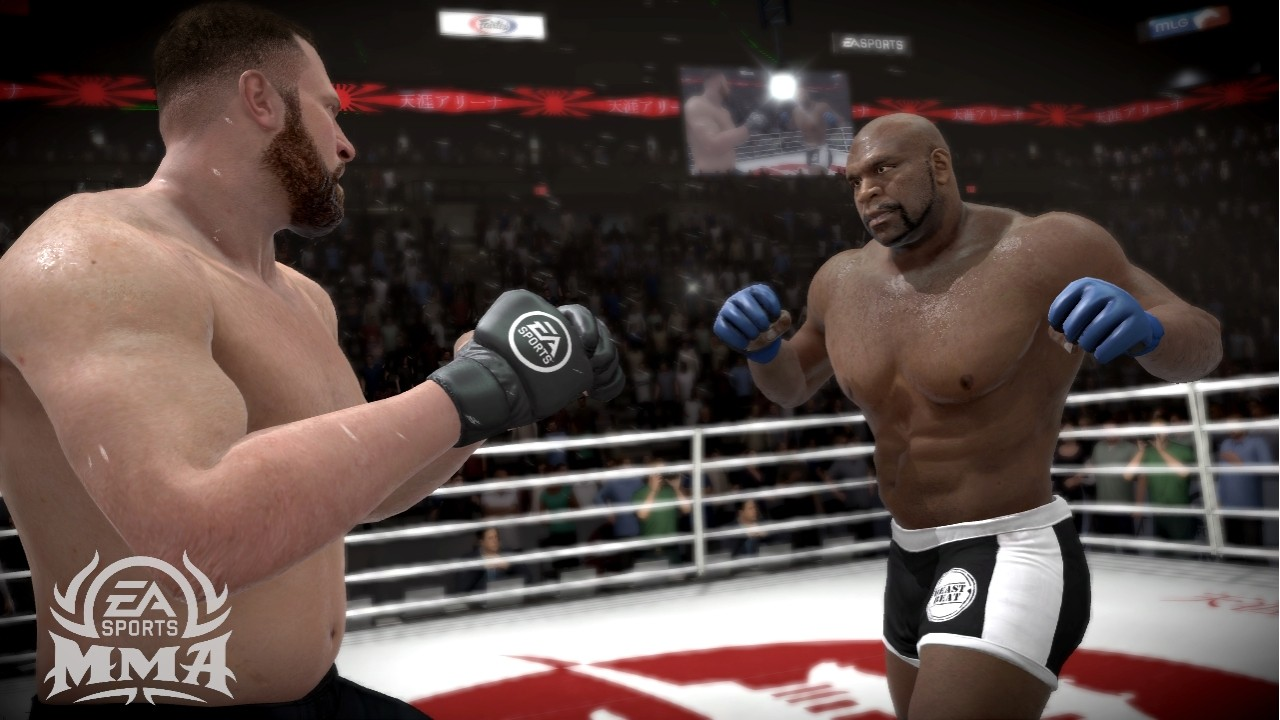 EA Sports MMA - Sul ring del Gamescom 2010