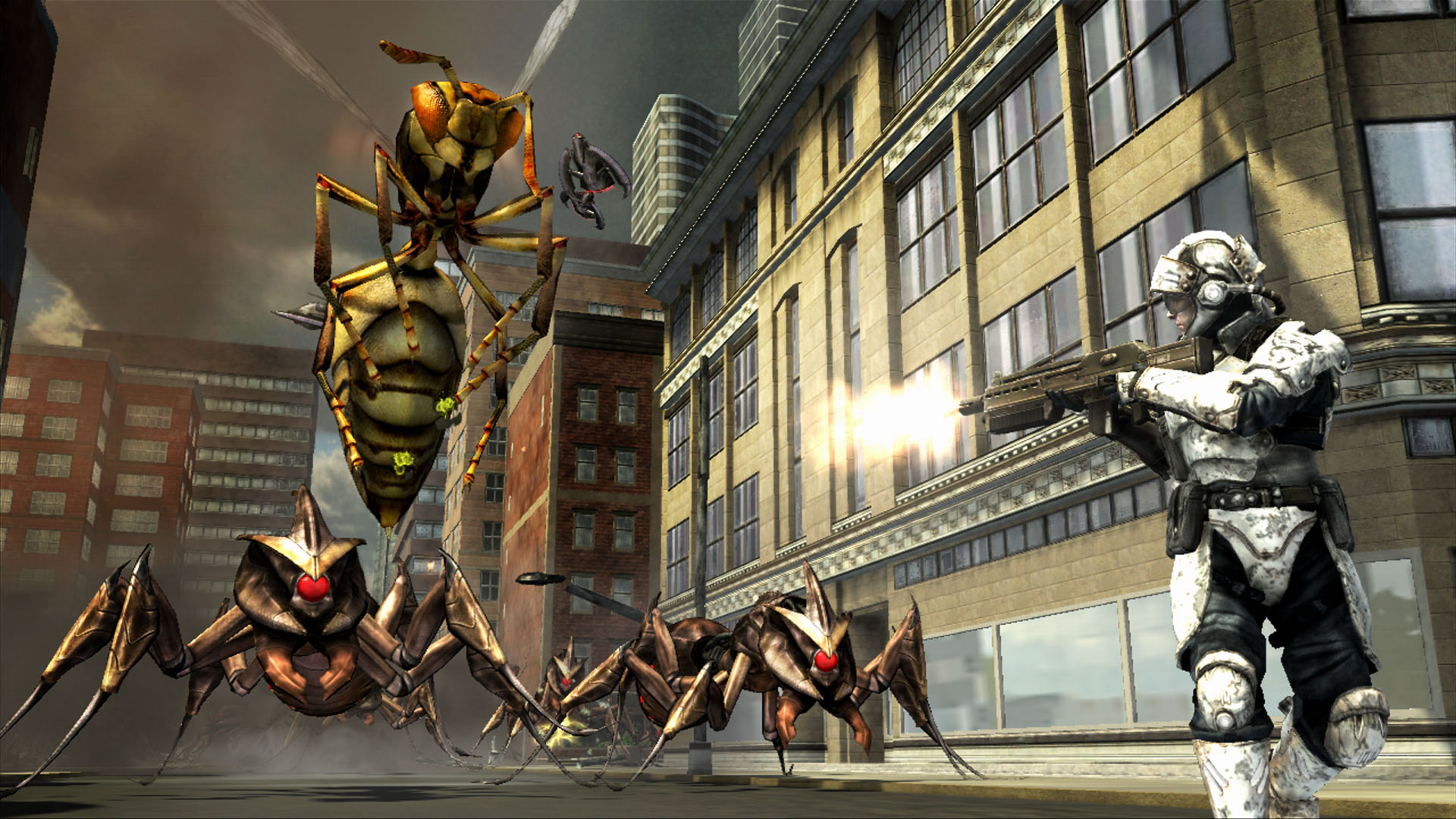 Earth Defense Force: Insect Armageddon - Insetti Giganti