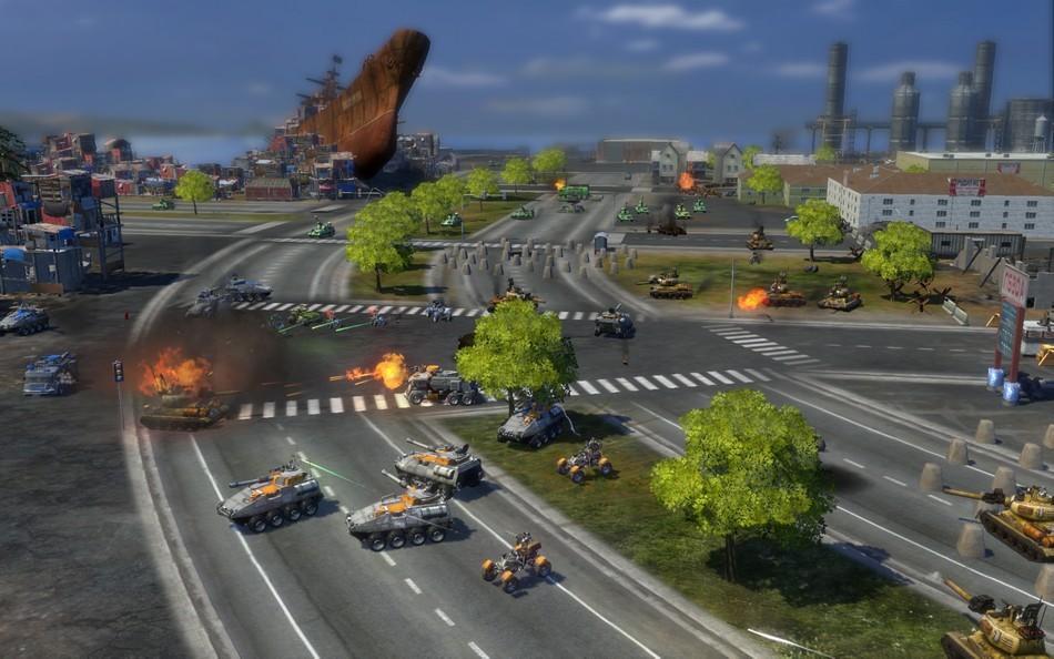 End of Nations - Carri armati e mezzi pesanti