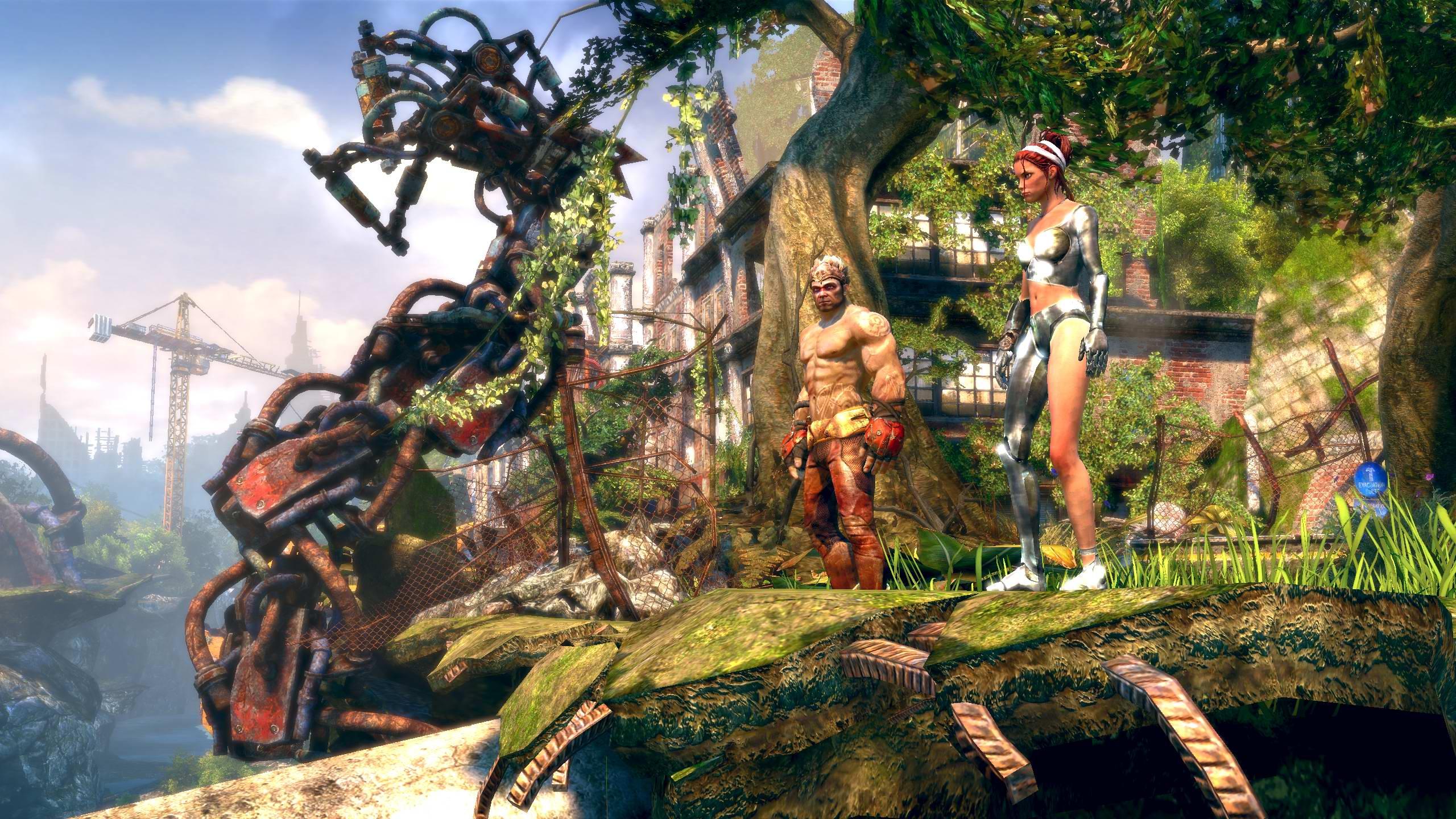 Enslaved - DLC Costumes Screenshots