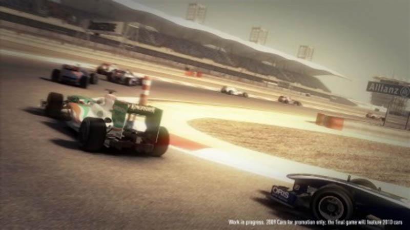 F1 2010 - Immagini dalla pista