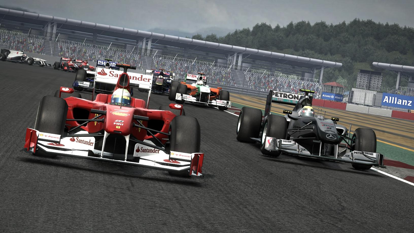 F1 2010 - Screenshots dal circuito