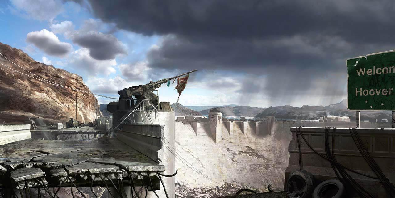 Fallout: New Vegas - Paesaggi desolati