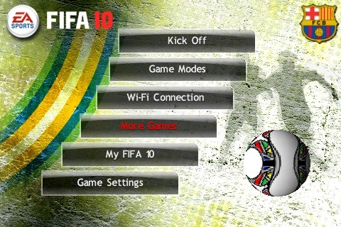 FIFA 10 - iPhone - Barcellona in campo