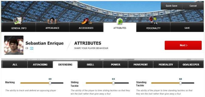 FIFA 11 - Crea la tua squadra