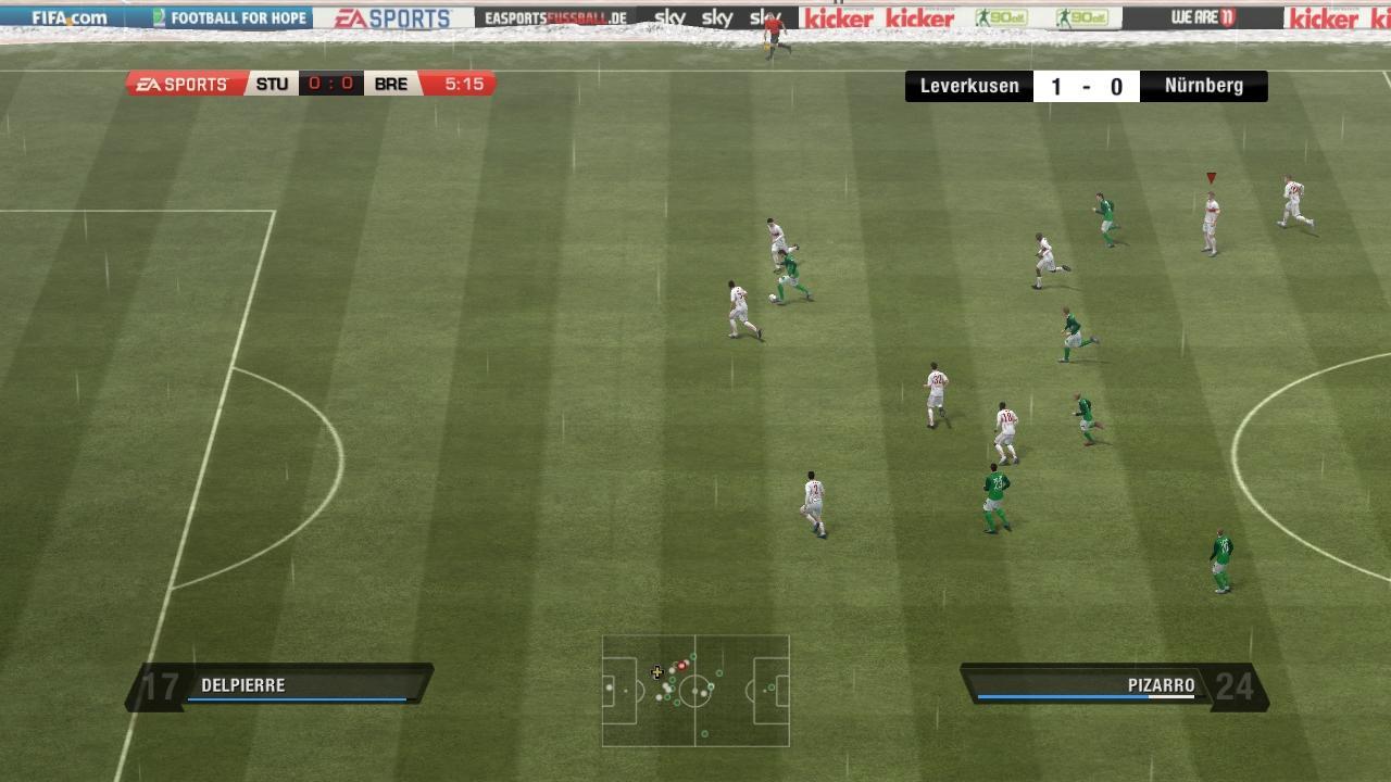 FIFA 11 - Modalità Carriera