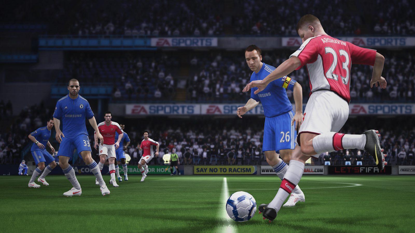 FIFA 11 - Prime immagini dagli stadi inglesi