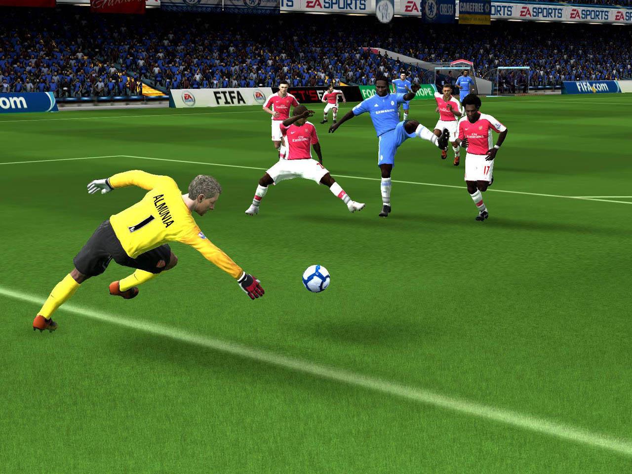 FIFA Online - Immagini dal campo di gioco