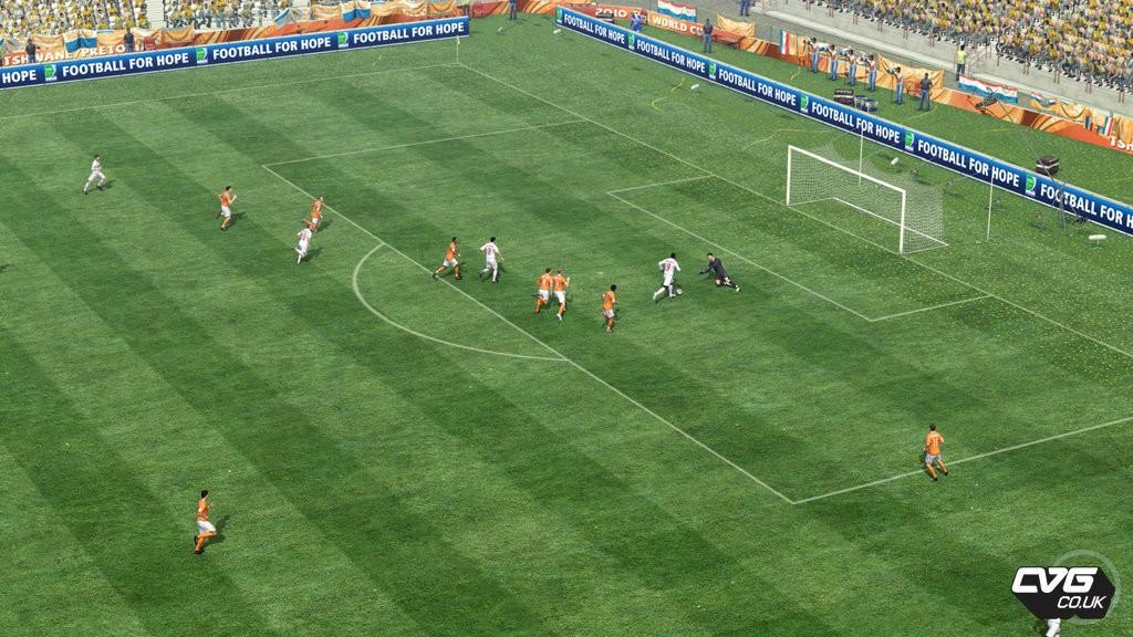 FIFA World Cup 2010 - Giocatori e azioni