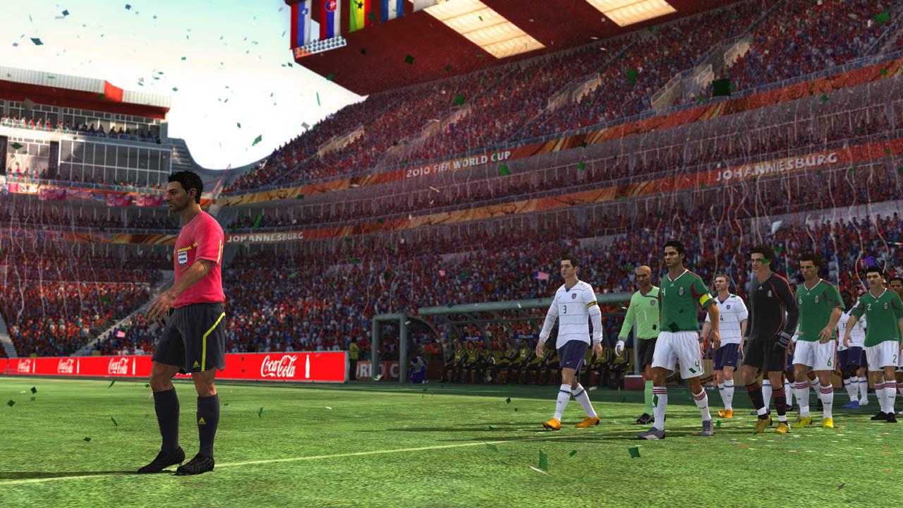 FIFA World Cup 2010 - Ingresso in campo e inni