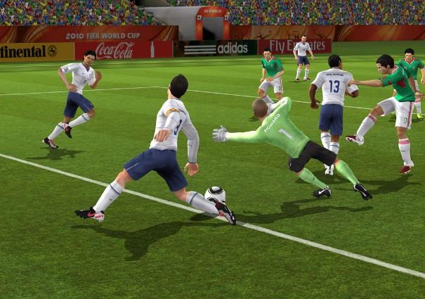 FIFA World Cup 2010 - Screenshots Wii