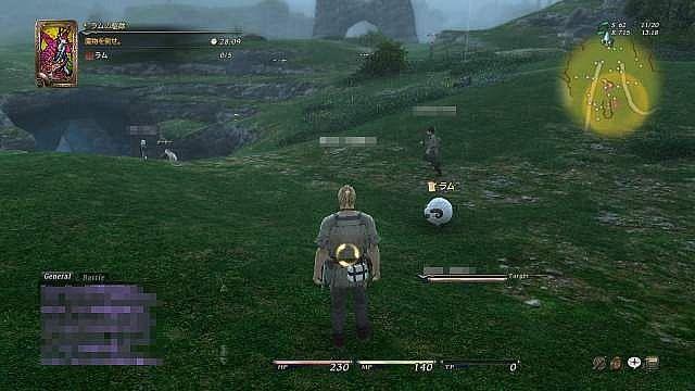 Final Fantasy XIV - In game