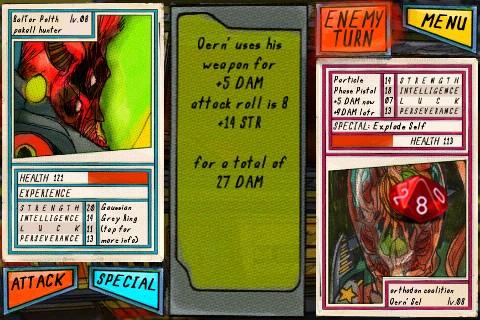 Galactic Keep - Dice Battles - Screenshots
