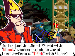 Ghost Trick - Screenshots dal Captivity 2010