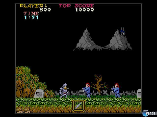 Ghosts 'n Goblins CV - Screenshots