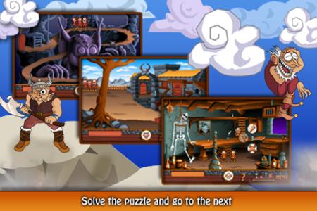 Gobliiins - iPhone puzzle