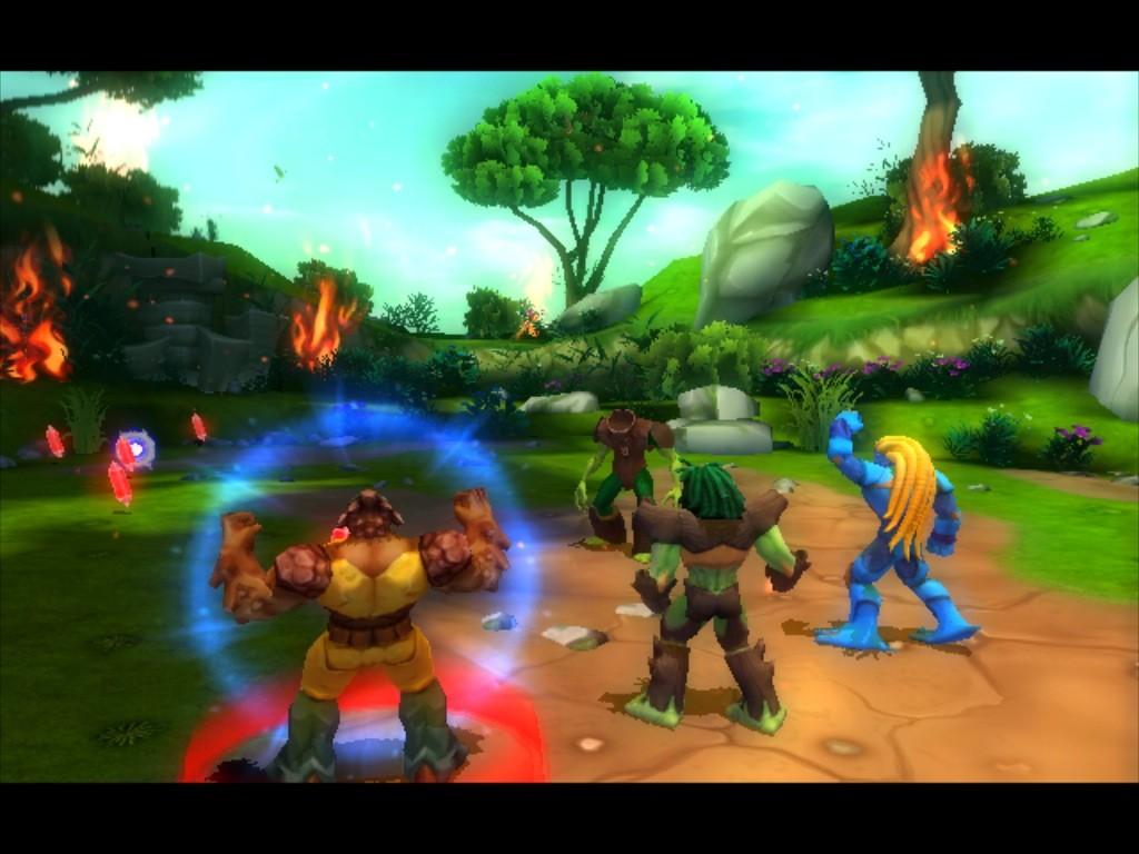 Gormiti: The Lord of Nature - Wii Screenshots
