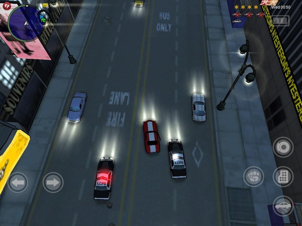 Grand Theft Auto: Chinatown Wars - iPhone - iPad Screens
