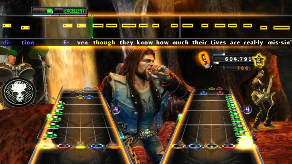 Guitar Hero: Warriors of Rock - Rush Screens