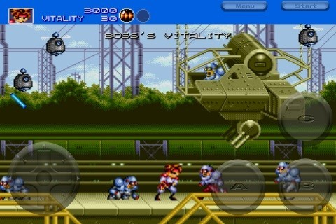 Gunstar Heroes - Screenshots