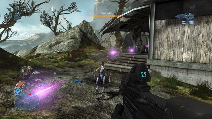 Halo: Reach - Ambienti - X10
