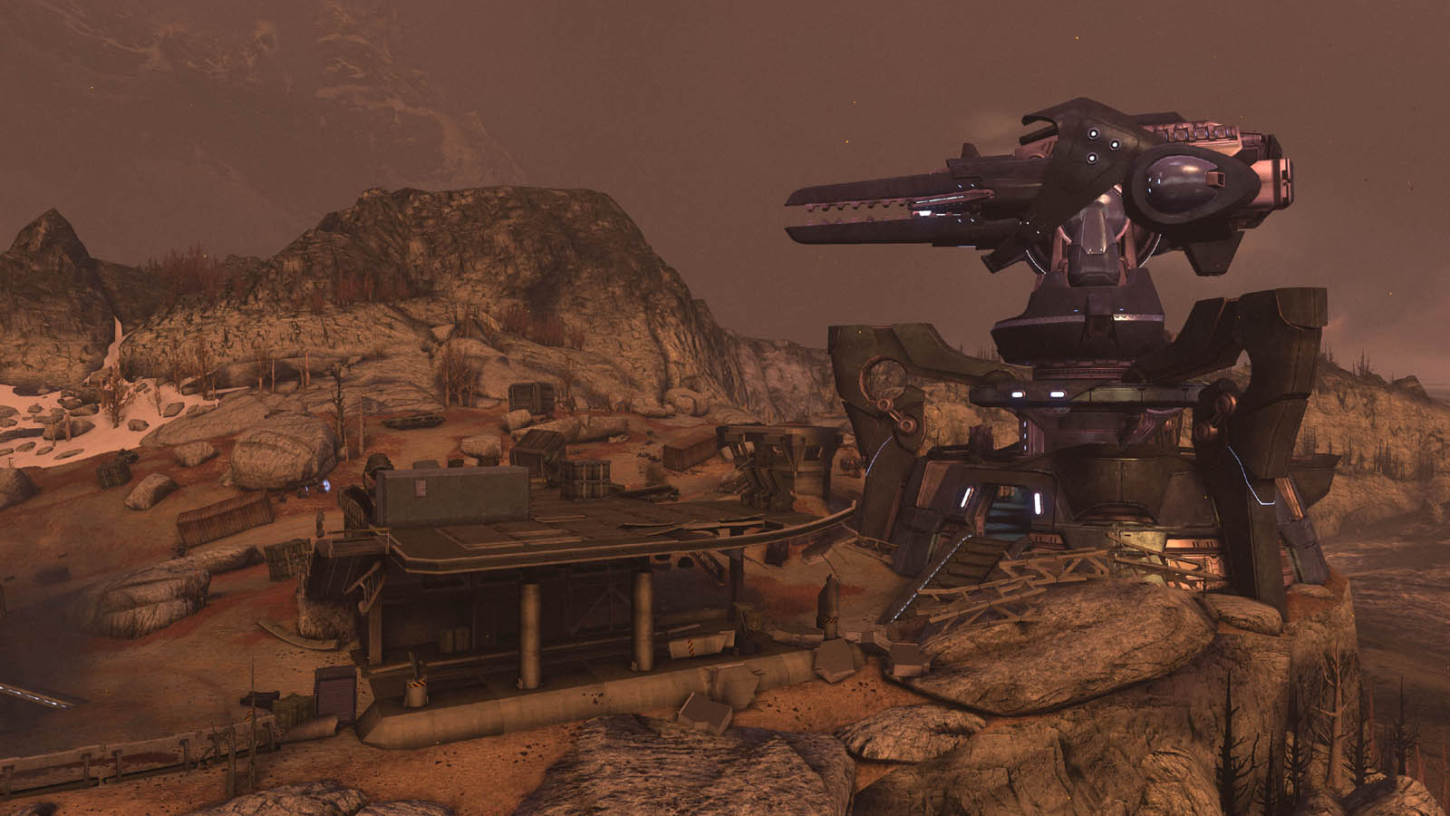 Halo: Reach - Firefight Outpost