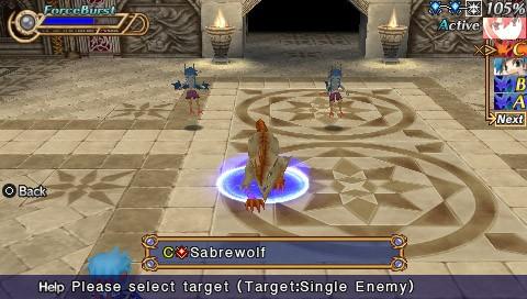 Hexyz Force - Immagini del gameplay