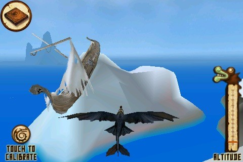 How to train your Dragon: Flight of the night Fury - Screens
